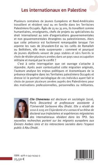 4eme Les internationaux en Palestine