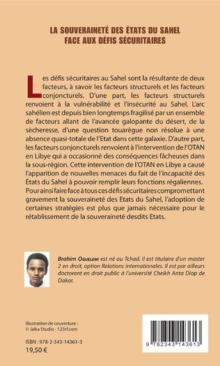 4eme La souveraineté des états du Sahel face aux défis sécuritaires
