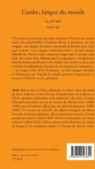 4eme L'ARABE LANGUE DU MONDE