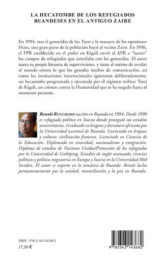 4eme La hecatombe de los refugiados ruandeses en el antiguo Zaire