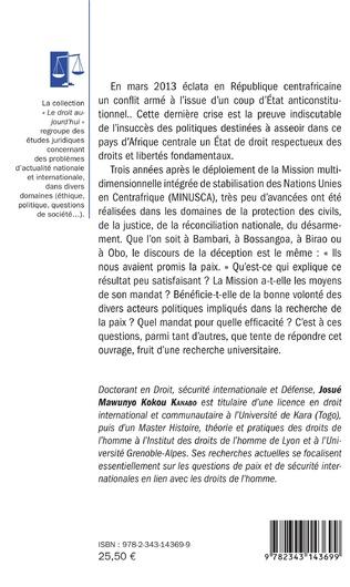 4eme Protection des civils en République centrafricaine