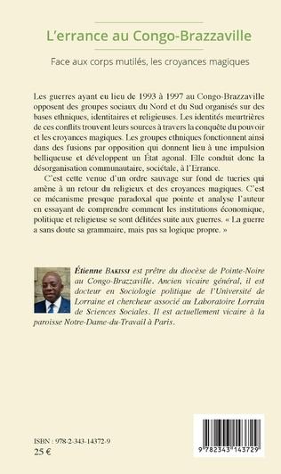4eme L'errance au Congo-Brazzaville