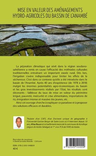 4eme Mise en valeur des aménagements hydro-agricoles du bassin de l'Anambé