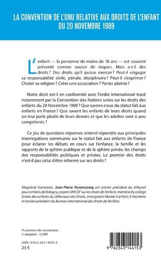 4eme La convention de l'ONU relative aux droits de l'enfant du 20 novembre 1989