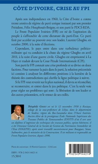 4eme Côte d'ivoire, crise au FPI