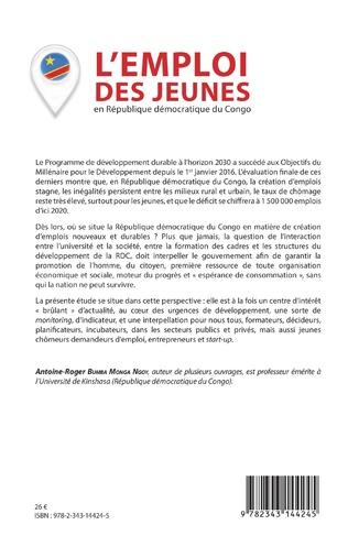 4eme L'emploi des jeunes en République démocratique du Congo