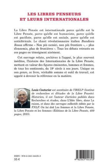 4eme Les Libres penseurs et leurs internationale