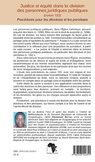 4eme Justice et équité dans la division des personnes juridiques publiques