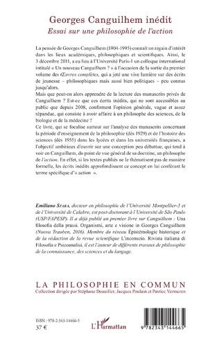 4eme Georges Canguilhem inédit