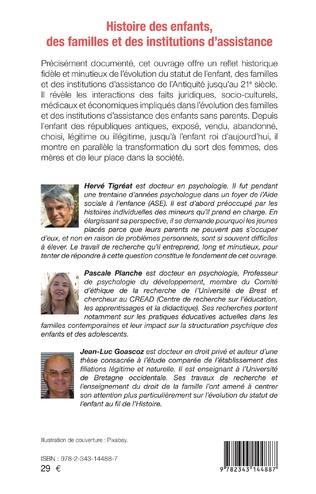4eme Histoire des enfants, des familles et des institutions d'assistance