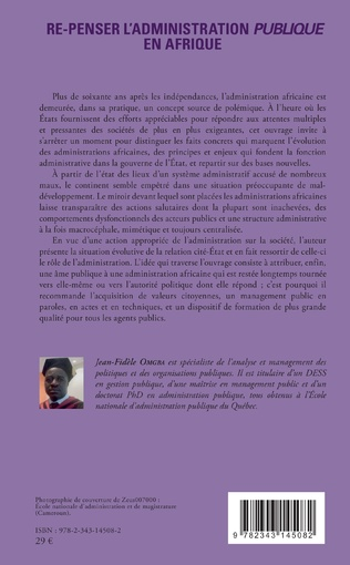4eme Re-penser l'administration publique en Afrique