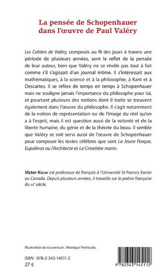 4eme La pensée de Schopenhauer dans l'oeuvre de Paul Valéry