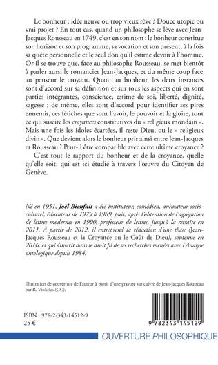 4eme Le bonheur entre Jean-Jacques et Rousseau