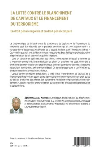 4eme La lutte contre le blanchiment de capitaux et le financement du terrorisme