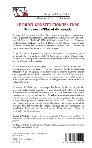 4eme Droit constitutionnel turc