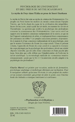 4eme Psychologie de l'inconscient et dieu Freyr du mythe scandinave