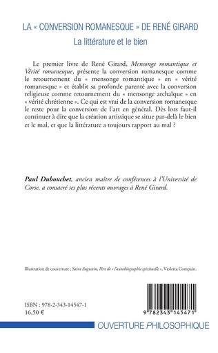 4eme La « conversion romanesque » de René Girard