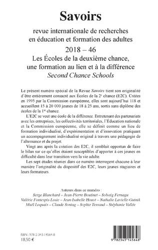 4eme Les Écoles de la deuxième chance, une formation au lien et à la différence