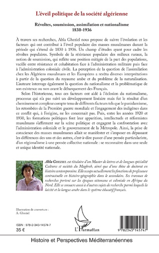 4eme L'éveil politique de la société algérienne