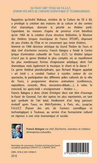 4eme Du Faust (art total) au F.A.U.S.T