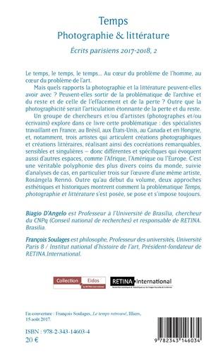 4eme Temps photographie & littérature