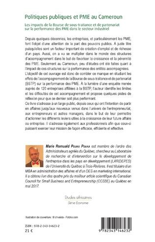 4eme Politiques publiques et PME au Cameroun
