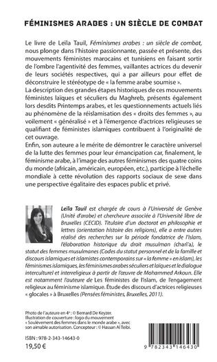 4eme Féminismes arabes : un siècle de combat