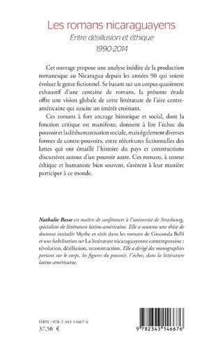 4eme Les romans nicaraguayens