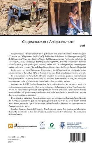 4eme Conjonctures de l'Afrique centrale 2018