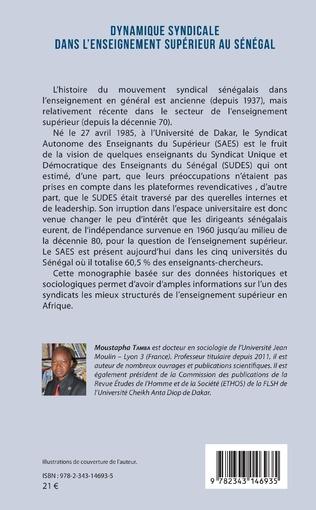 4eme Dynamique syndicale dans l'enseignement supérieur au Sénégal