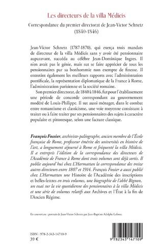 4eme Les directeurs de la villa Médicis au XIXe siècle