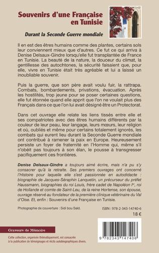 4eme Souvenirs d'une Française en Tunisie