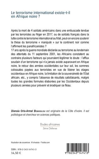 4eme Le terrorisme international existe-t-il en Afrique noire ?