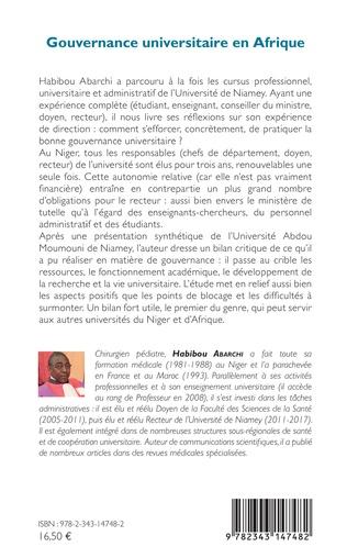 4eme Gouvernance universitaire en Afrique