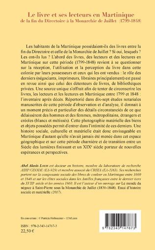 4eme Le livre et ses lecteurs en Martinique