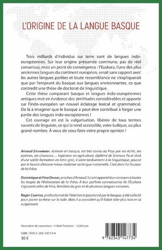 4eme L'origine de la langue basque
