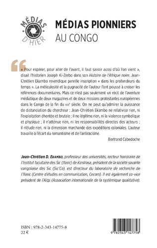 4eme Médias pionniers au Congo