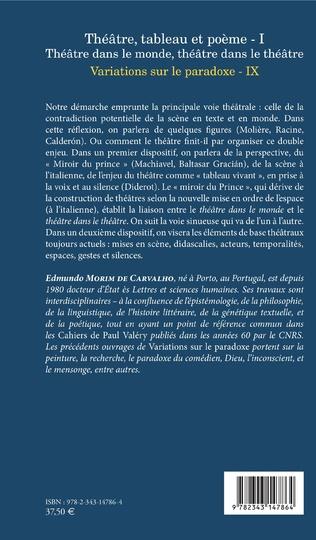 4eme Théâtre, tableau et poème - I