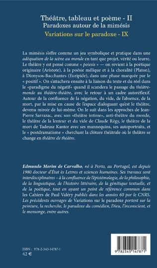 4eme Théâtre, tableau et poème - II