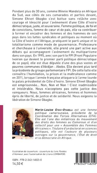 4eme Libérez Simone Ehivet Gbagbo