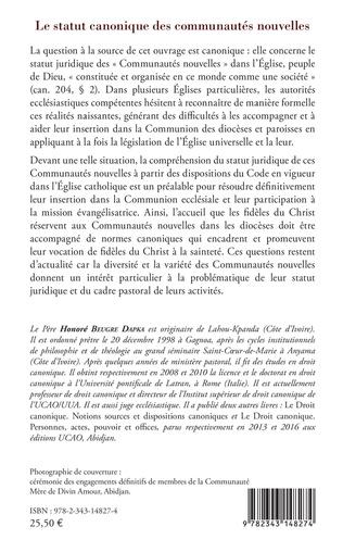 4eme La statut canonique des communautés nouvelles
