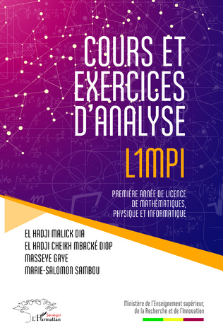 4eme Cours et exercices d'analyse L1MPI