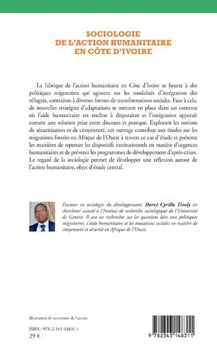 4eme Sociologie de l'action humanitaire en Côte d'Ivoire
