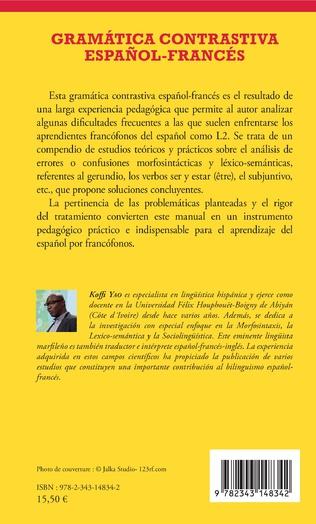 4eme Gramática contrastiva español-francés