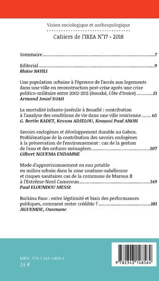 4eme Une population urbaine à l'épreuve de l'accès aux logements dans une ville en reconstruction post-crise après une crise politico-militaire entre 2002-2011 (Bouaké, Côte d'Ivoire)