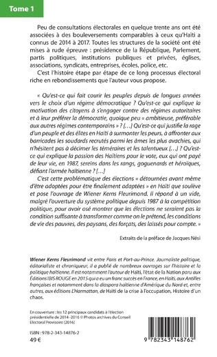 4eme Haïti, de Michel Martelly à Jovenel Moïse Tome 1