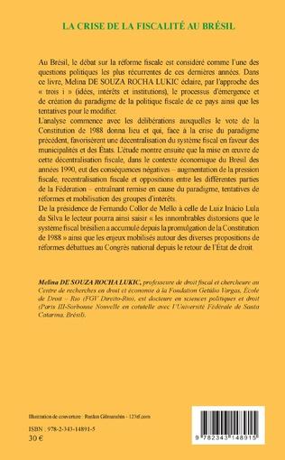 4eme La crise de la fiscalité au Brésil