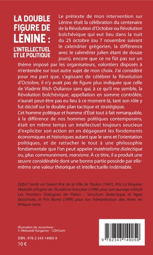 4eme La double figure de Lénine : l'intellectuel et le politique