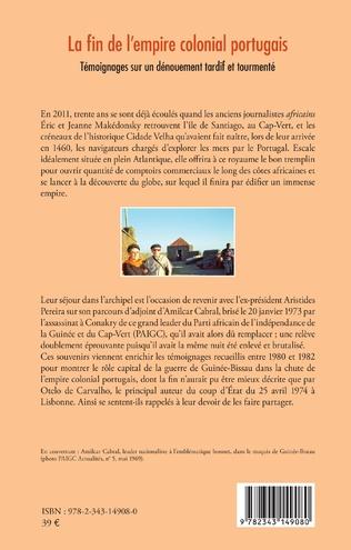 4eme La fin de l'empire colonial portugais