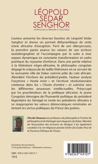 4eme Léopold Sédar Senghor Approches littéraire et politique